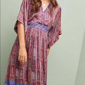 Anthropologie Okinawa Kimono Dress - NWT Petite S